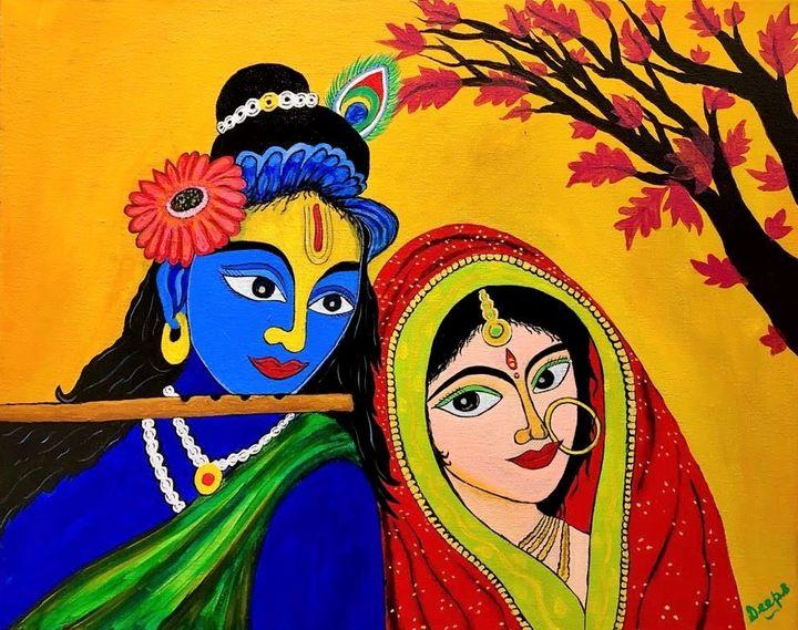 Radha Krishna - D.S. Creations