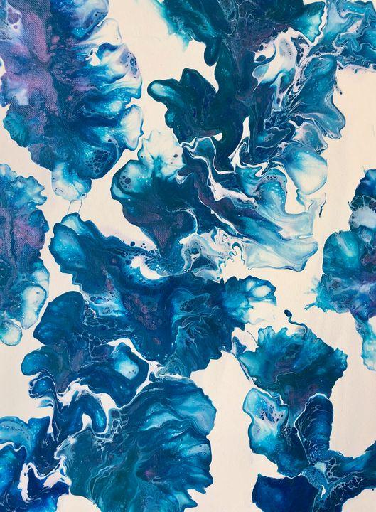Blue Lagoon - Perry Art Design