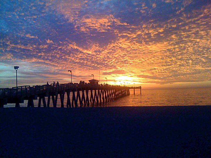 Sunset Over Sharkey's - Jacob Lesitsky
