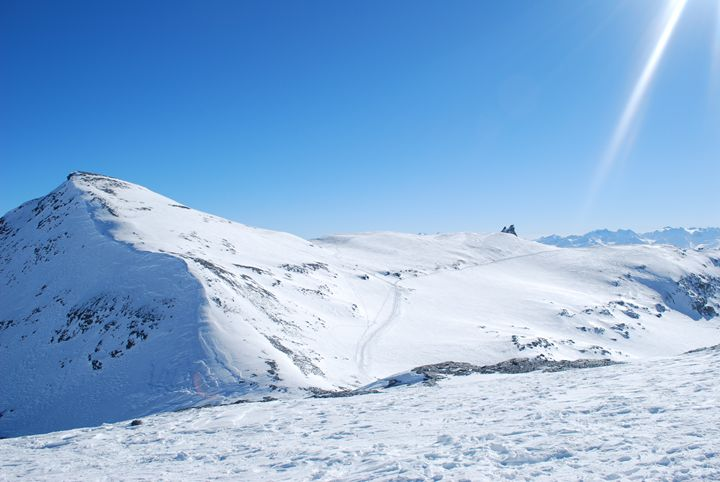 Glacier in Laax - Jacob Lesitsky