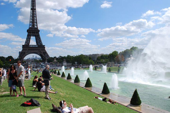 La Tour Eiffel et Trocadero - Jacob Lesitsky
