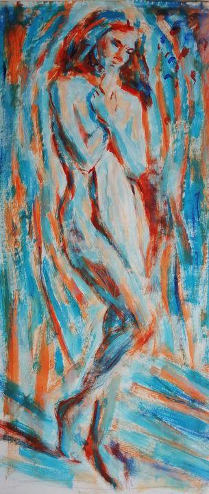 Fauvist Figure. - Liam Ryan