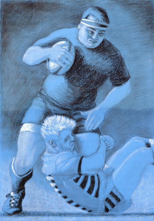 The Tackle. - Liam Ryan