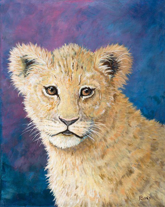 Baby Lion - JB Creative