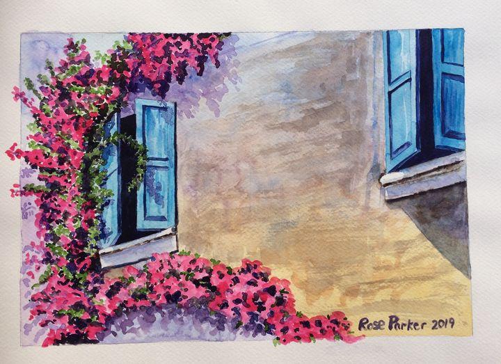 Spanish shutters1 - Rose Parker