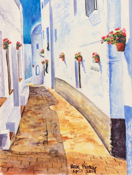 Mojacar calle Bigote - Rose Parker