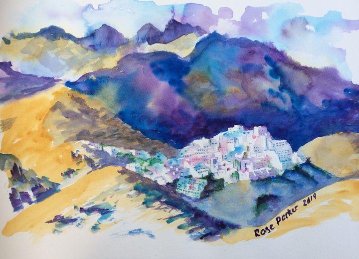 Mojacar pueblo - Rose Parker