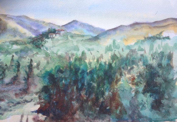 The Orange Orchard, La Perla, Spain - Rose Parker
