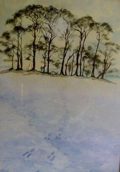 Snowy Knoll - Rose Parker