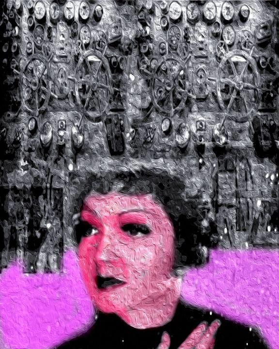 Woman of machine - Mike flynn