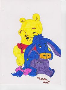 POOH BEAR AND FRIEND