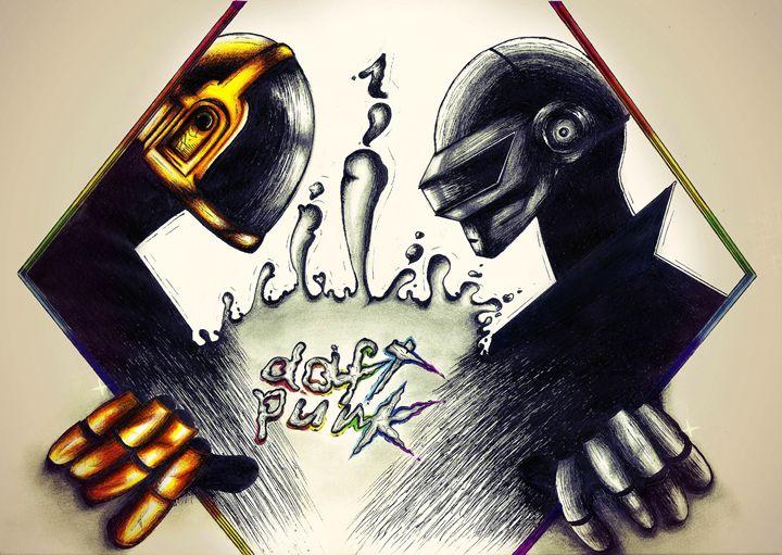 Daft Punk- Re-Discovery - Maddy Rusu