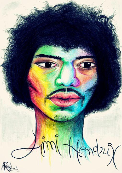 Jimi Hendrix - Maddy Rusu