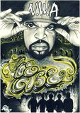 Ice cube, original draw