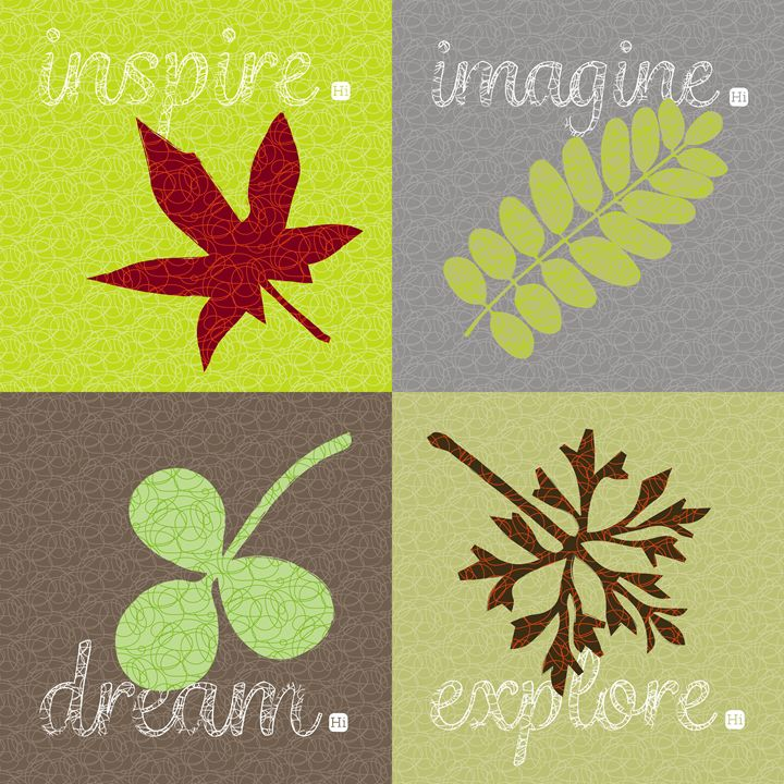 inspire imagine explore dream - Big H little i