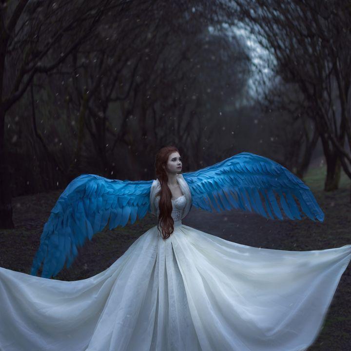 girl bird - Yana Bobrykova