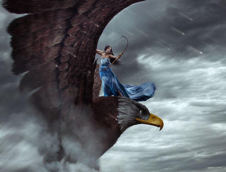eagle - Yana Bobrykova