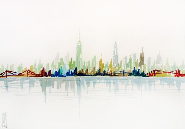 New York - Yana Bobrykova