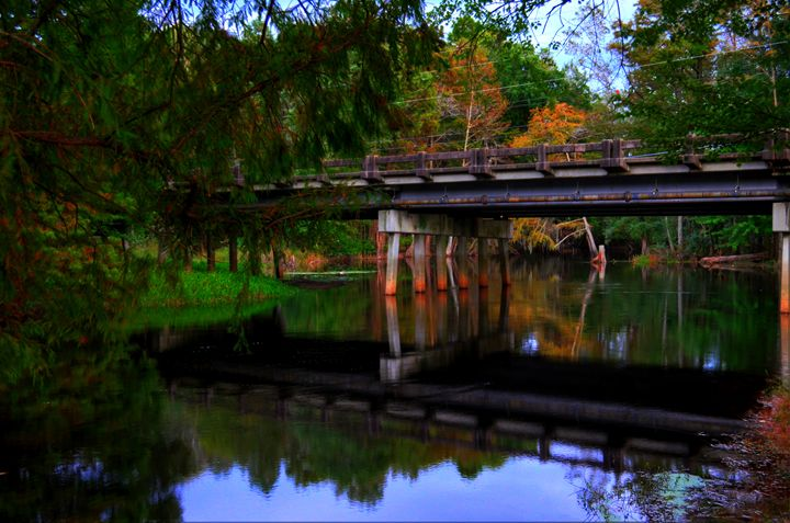 Bridge Reflection - LeMiray