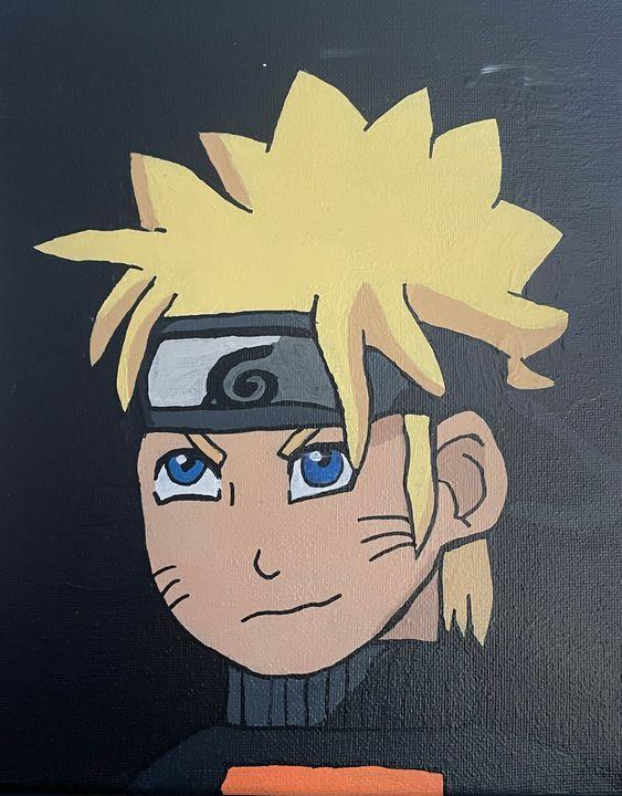 Naruto Painting - Kaetlynn's Art