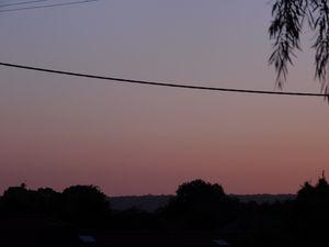 Pink Morning Sky