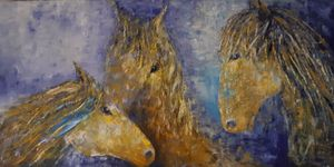 Horse Family - 3 Ages