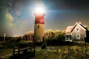 Night At Nauset Light