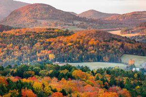 Autumn Sunrise of North East Kingdom