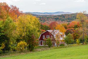 Autumn view - Woodstock - Vermont