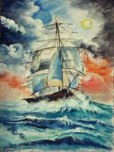 Rising Ship