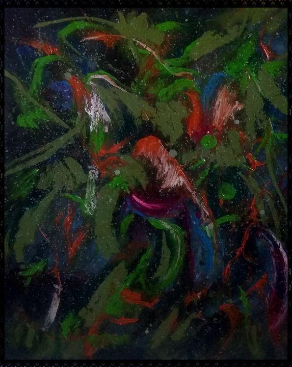 incastri di colori - gallery store originale dipinti