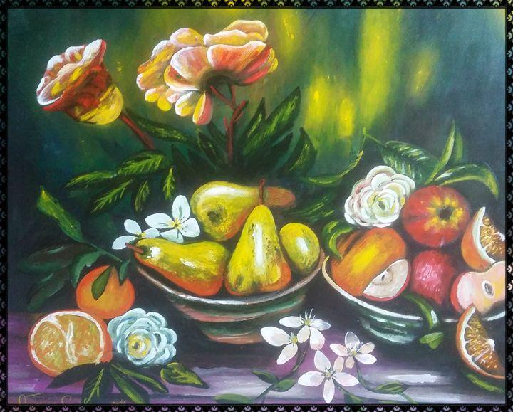 rose e fiori - gallery store originale dipinti