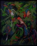 dipinto originale eseguito a mano