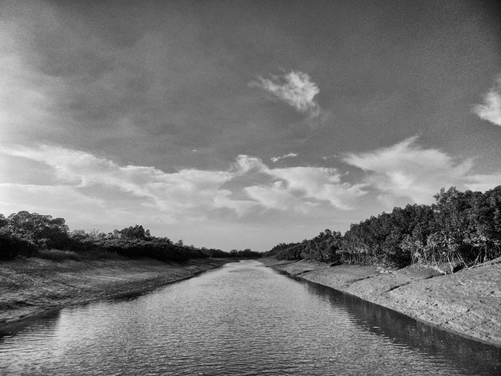 A roaly river - Kingshuk Mondal