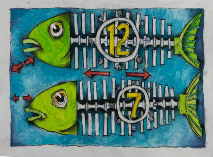 12 7 Fish - eric e