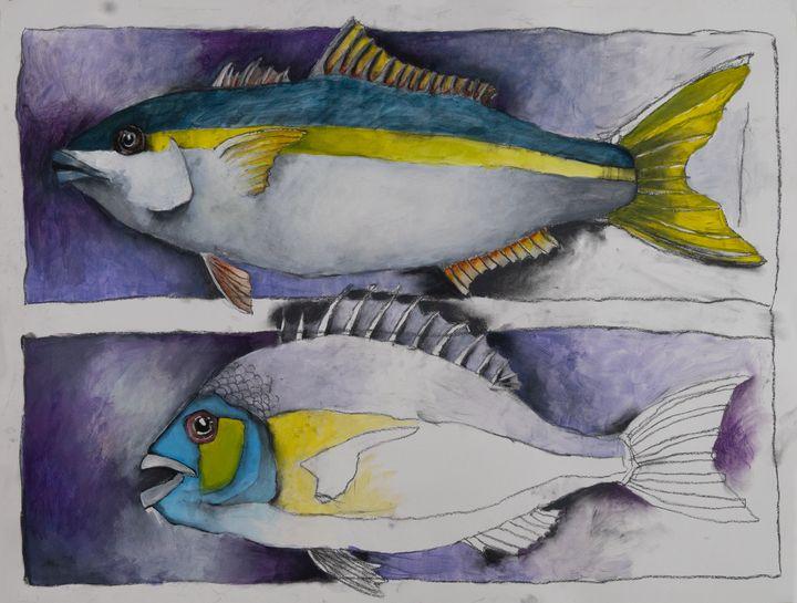 2 Fish Study - eric e