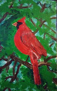 Cardinal at Peace