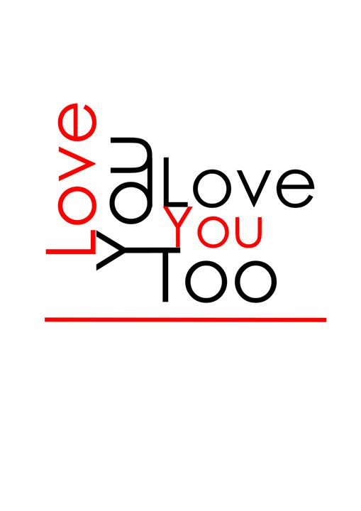 I Love You - Maria Helena Design
