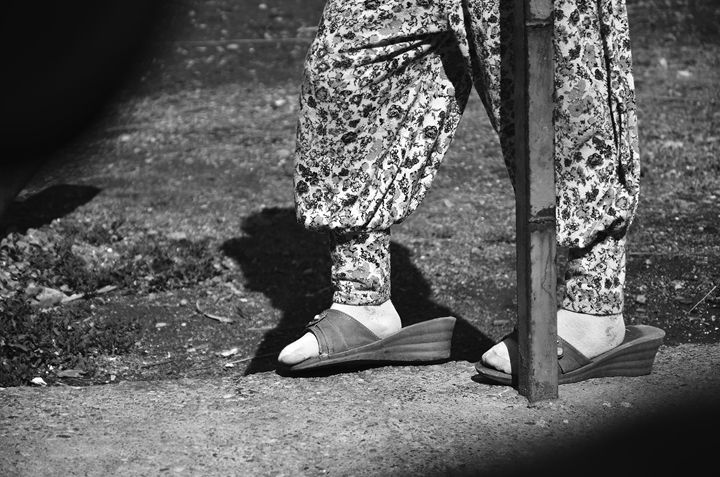 Fill the shoes - RainyLithuanian Photography