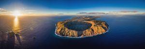 EASTER ISLAND - AERIAL SHOT 1