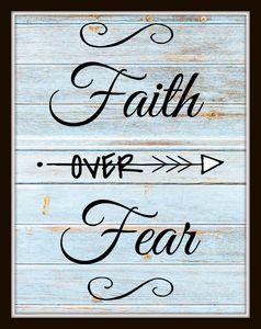 Faith over Fear - Paintings by Al