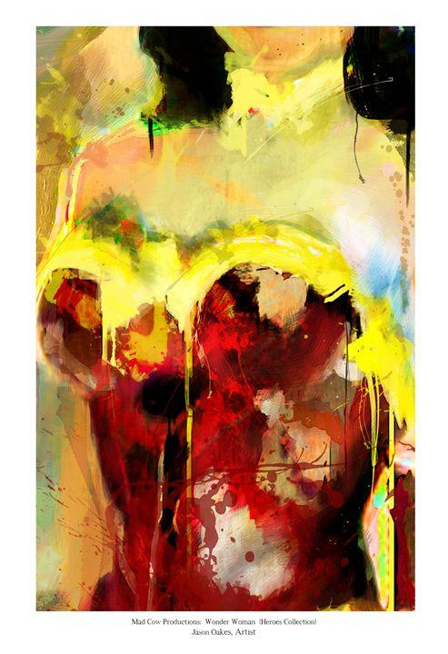 Comic Art: Wonder Woman - J2artist