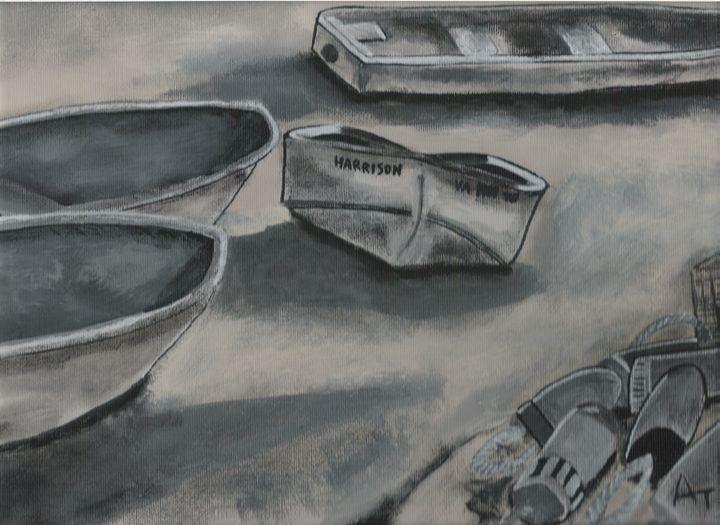 Harrison Pier Boats - OV ARTist