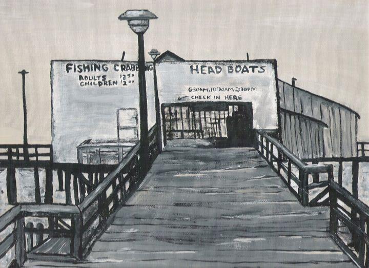 Harrison's Fishing Pier - OV ARTist