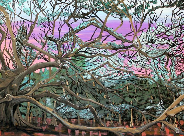 Angel Oak Tree - OV ARTist