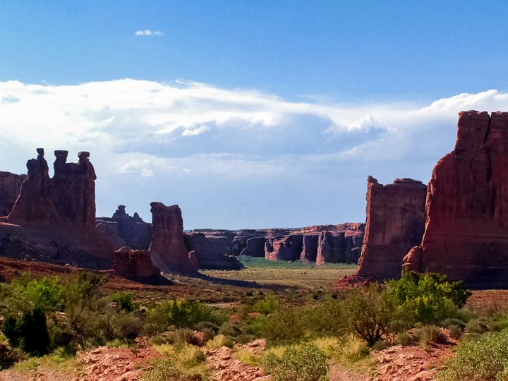 Council Valley Utah, Arches National - Kenneth D. Huskey