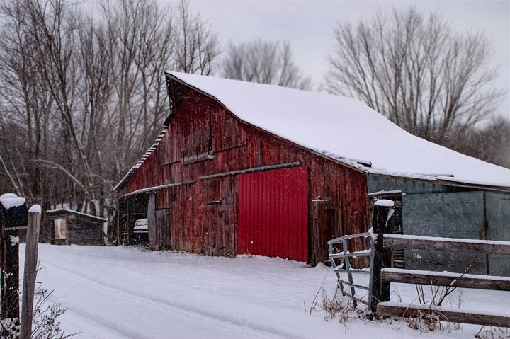 Shuttered Up for the Snow - Kenneth D. Huskey