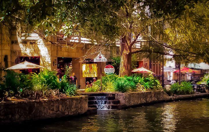San Antonio The Riverwalk - Kenneth D. Huskey
