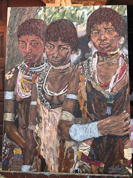 Nguni Youth - Adonis Arts