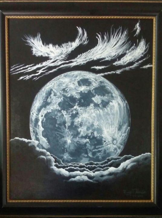 Blue Moon - Gary Hardin Art